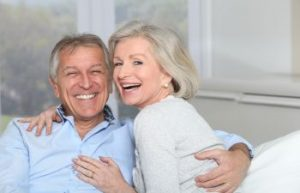 Smiling Older Couple Gainesville GA